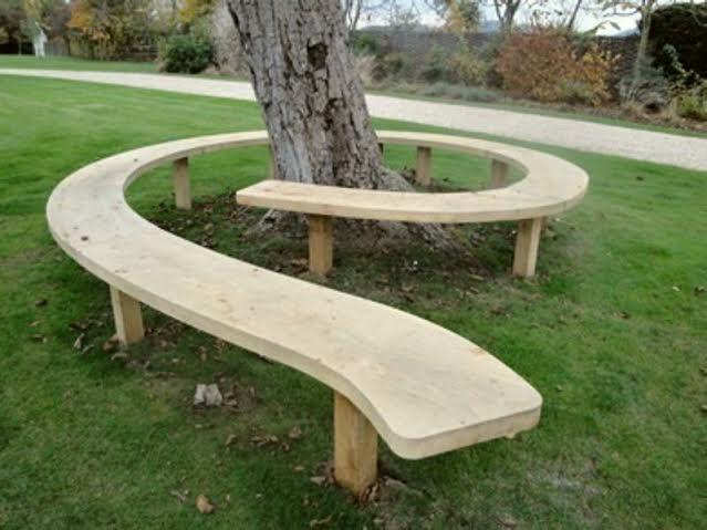 Как сделать красивую скамейку для сада