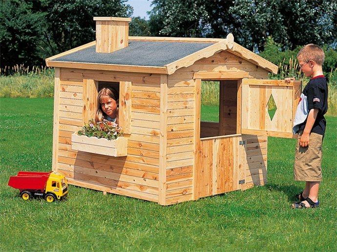 Как на даче сделать домик для детей на улице