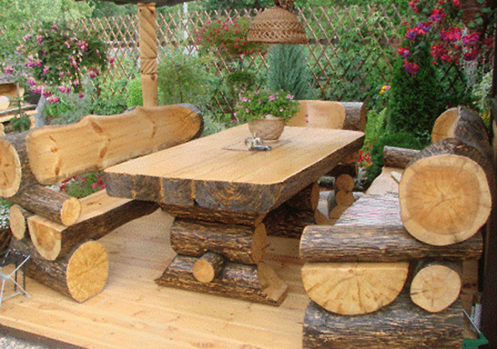 Rustic Wood Furniture  YouTube