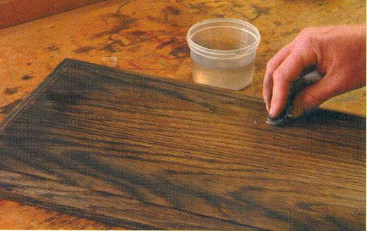 Старение древесины домашних условиях