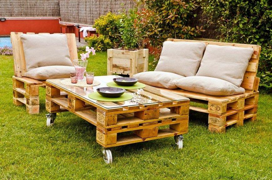 Мебель для дачи из